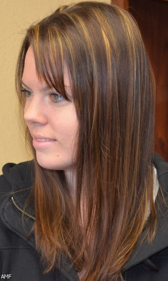 ... Brown Hair With Caramel Highlights And Lowlights Funny Meme Dark Brown
