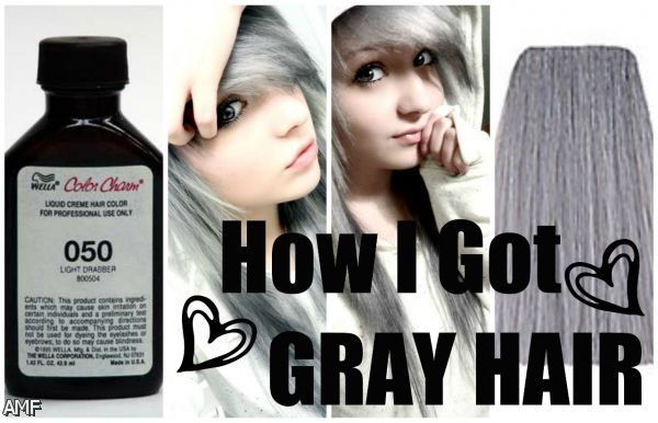 how to make white hair black without dye