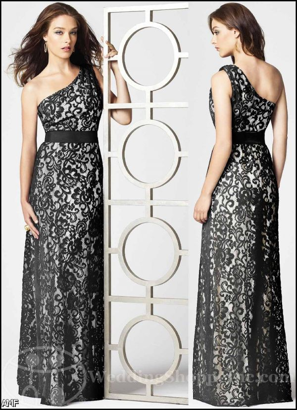 Black lace overlay bridesmaid dresses 2015 2016 fashion for Lace overlay wedding dress