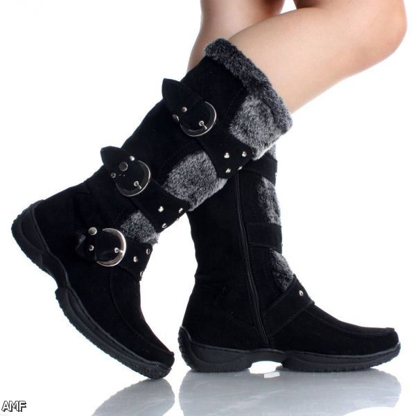 Black Winter Boots For Women 2015-2016 | Fashion Trends ...