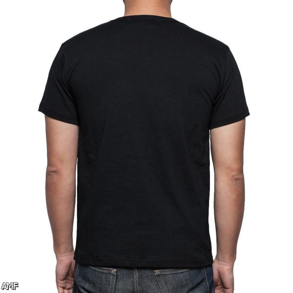 the gallery for blank black t shirt front and back
