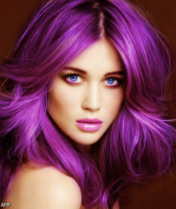 Blonde And Purple Hair Styles 14