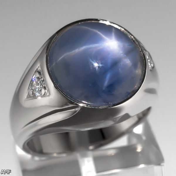 Blue Sapphire Ring For Men Price Blue Sapphire Ring For...