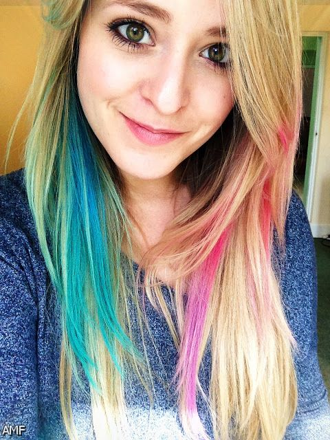 brown hair with pink tips 20152016 fashion trends 20162017
