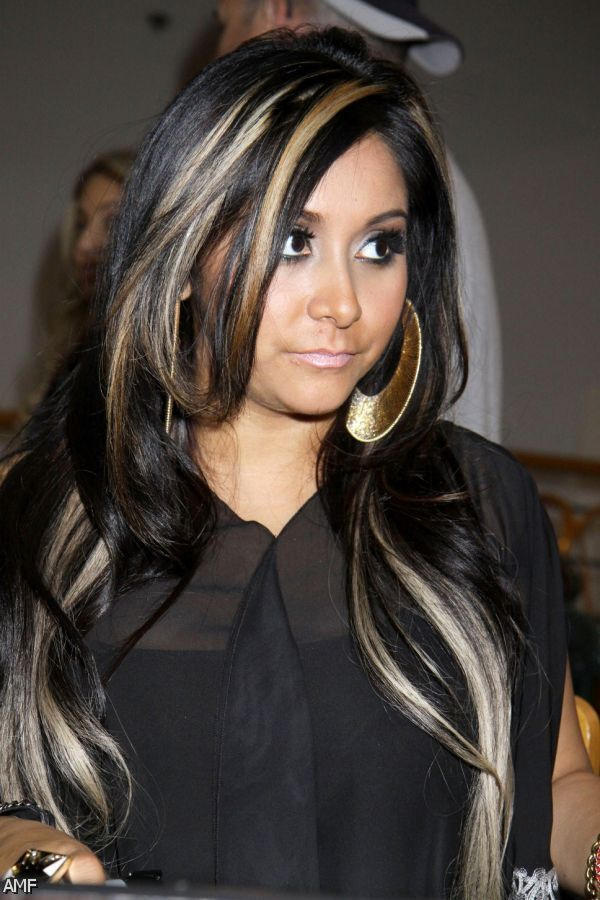 ... Fraction Nefarious Underneath Chunky Blonde Highlights With Brown