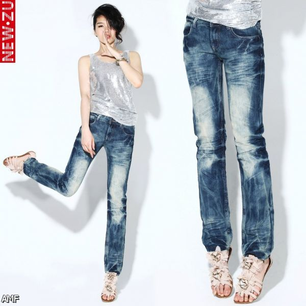 For twopence Jeans Over the scope of Women Pleated Pants,Extra Bulk