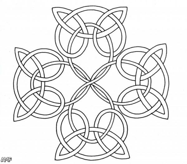 celtic knotwork coloring pages   Celtic Knot Coloring Pages 2015-2016   Fashion Trends 2016 ...