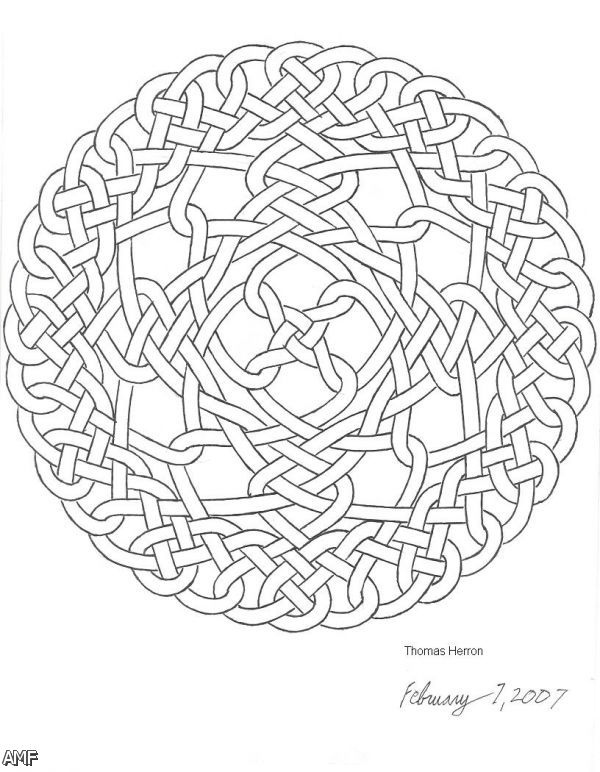 Celtic Knot Coloring Pages 2015 2016