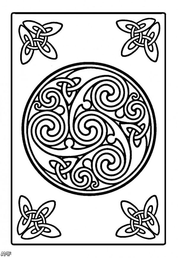 Celtic Knot Coloring Pages For Adults Coloring Pages Celtic Knot Coloring Pages