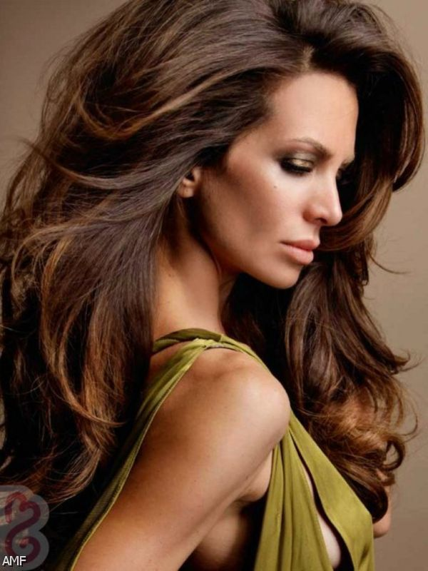 Brown Hair Color With Caramel Lowlights 2015 2016 | Fashion Trends ...