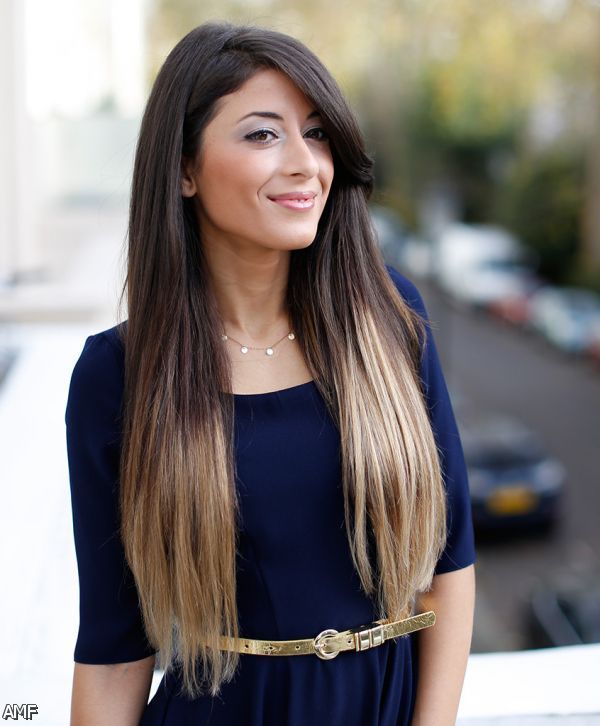 Black To Chocolate Brown Ombre Hair Extensions 67