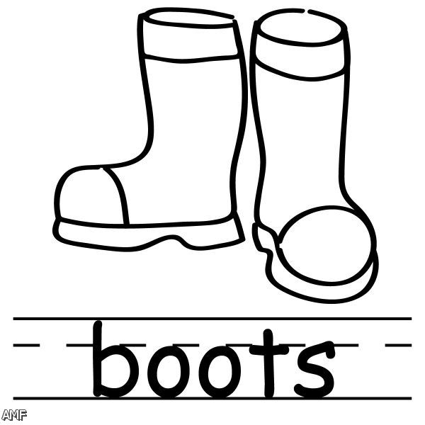 winter boots clipart free - photo #32