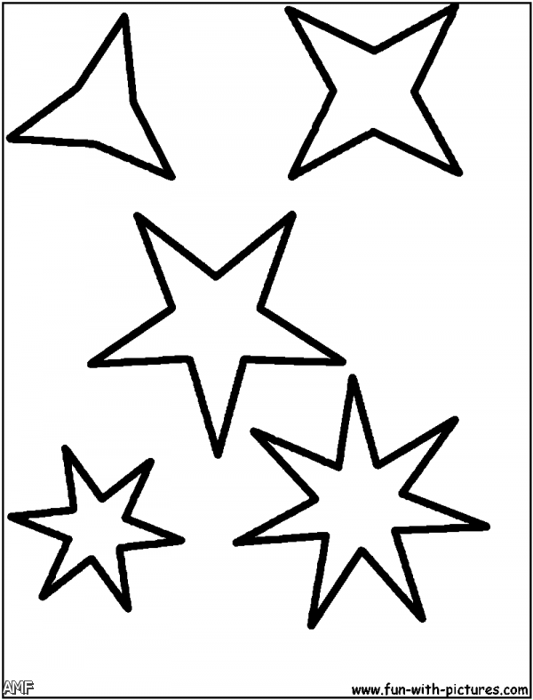 Coloring Pages Of Stars Shape 2015-2016 | Fashion Trends ...