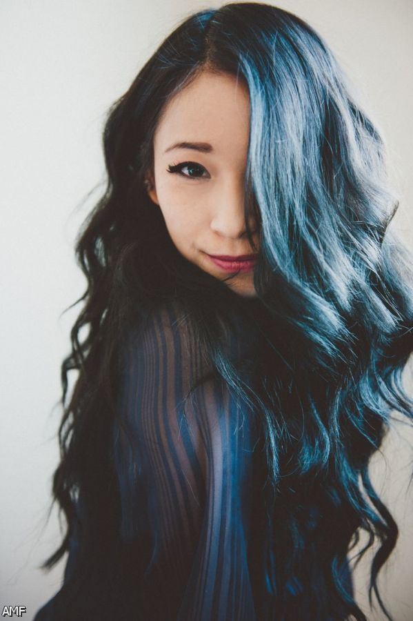 dark blue black hair tumblr 20152016 fashion trends