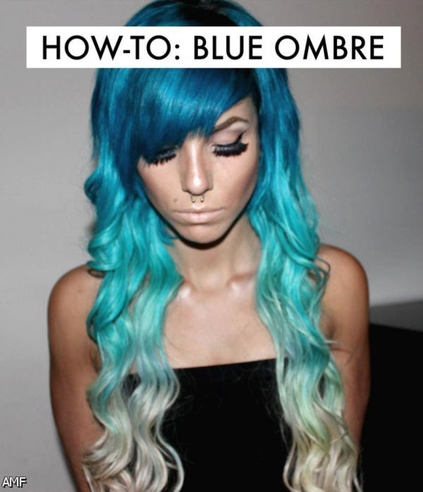 dark blue teal hair 20152016 fashion trends 20162017