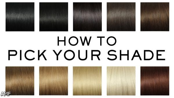 Dark Brown Hair Color Chart Shopping Guide We Are
