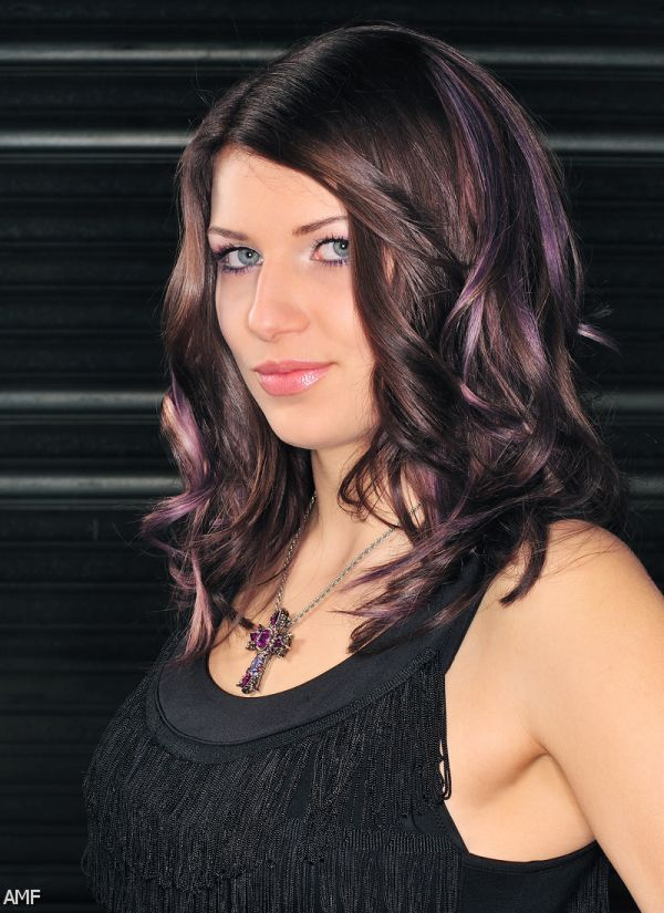 Dark Brown Hair With Purple Undertones - 85.9KB