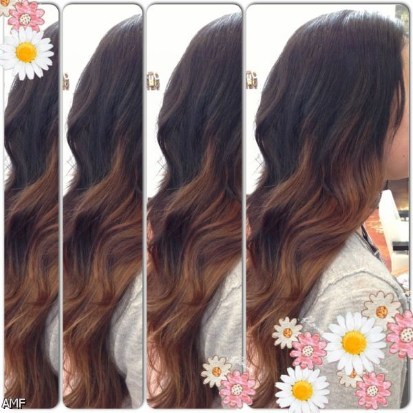 dark brown ombre hair pinterest 20152016 fashion trends