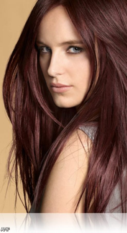 Dark Brown Red Hair Color Shades 2015 2016 Fashion