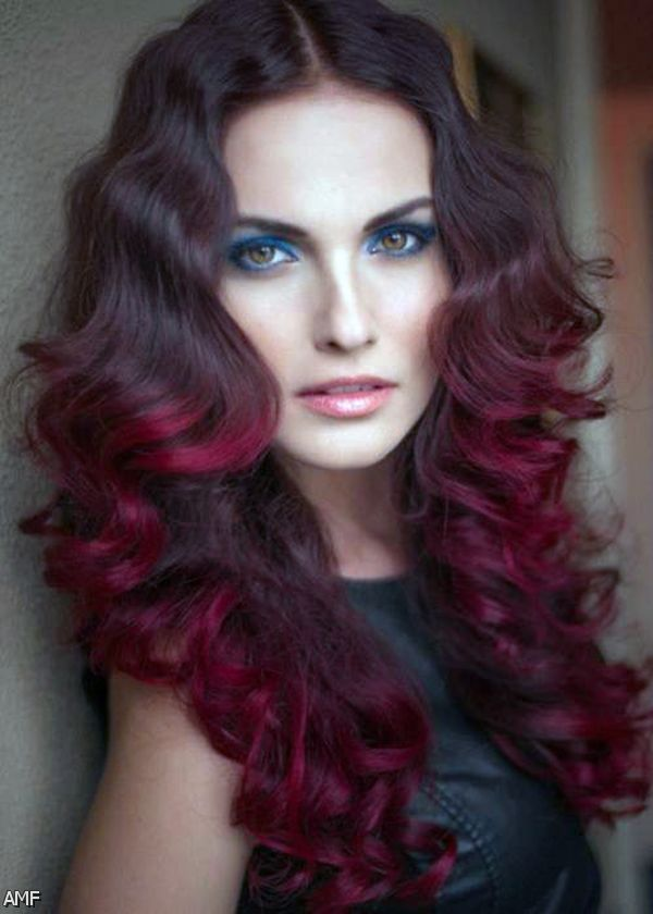 hair colors brown red - photo #37