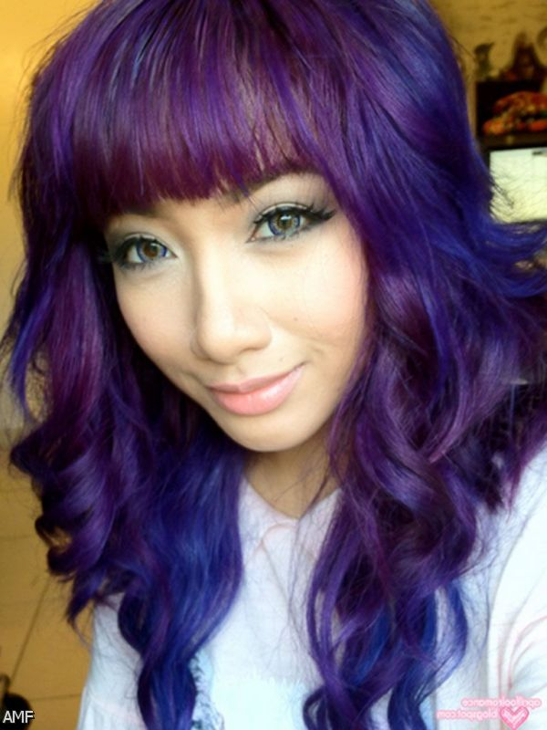 Dark Purple Ombre Hair Tumblr 2015-2016 | Fashion Trends ...