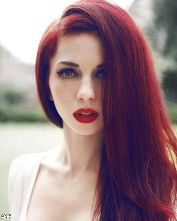 dark red hair dye 2015 2016 fashion trends 2016 2017