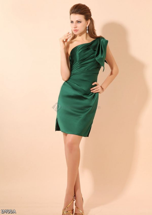 emerald green cocktail dress 20152016 fashion trends