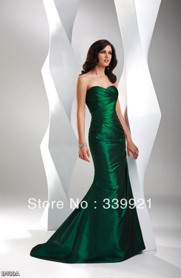 Emerald green wedding dress 2015 2016 fashion trends for Emerald green wedding dress