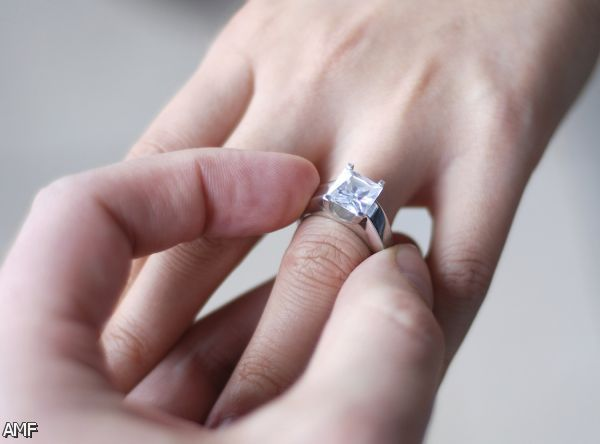 Engagement rings on hand couple 2015 2016 fashion trends 2016 2017