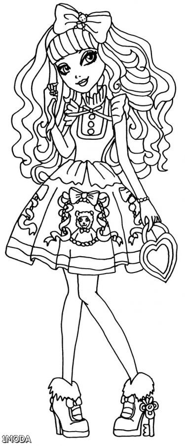 Ever After High Coloring Pages - Best Coloring Pages For Kids | 900x375