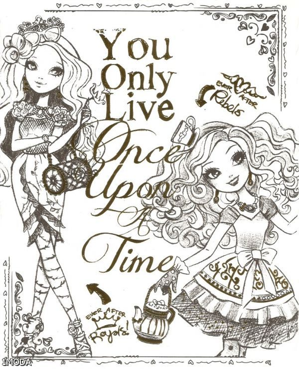 Ever After High Madeline Hatter Coloring Pages - #traffic-club