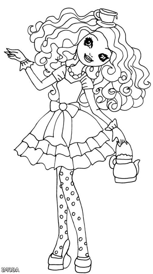 Coloring Pages Ever After High : Ever after high free coloring pages