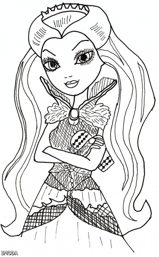 Ever after high coloring pages raven 2015 2016 fashion for Raven coloring pages