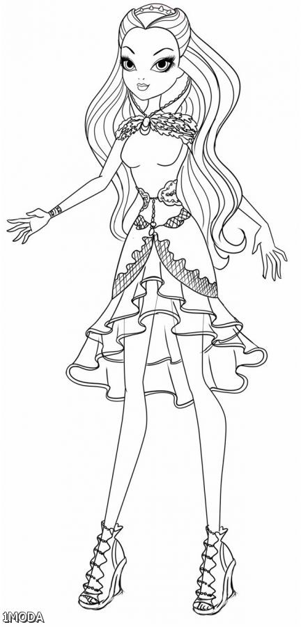 Ever After High Coloring Pages Raven Shopping Guide We