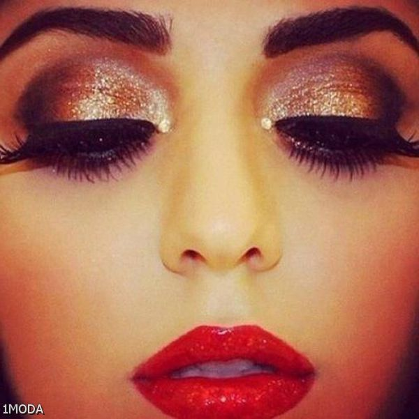 Eye Makeup For Red Prom Dress 2015-2016