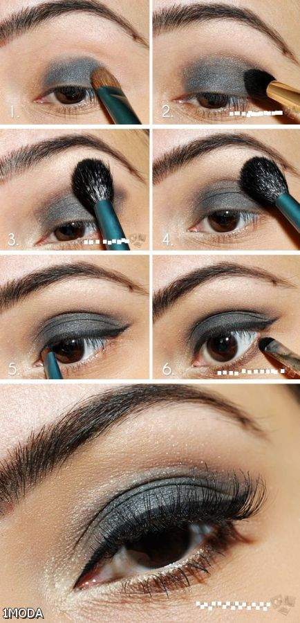 Eye step makeup by step guide recommendations to wear in winter in 2019