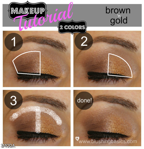 Eye Makeup Tutorial Step By Step For Brown Eyes 2015-2016 ...