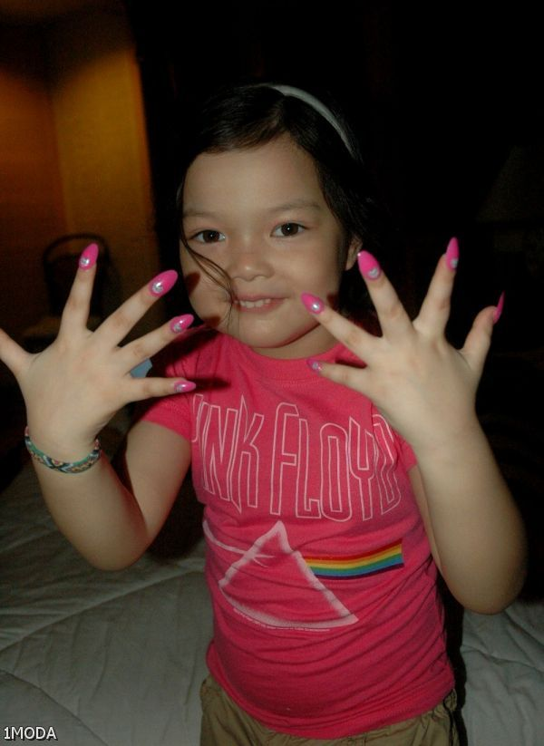 fake nails for kids 20152016 fashion trends 20162017