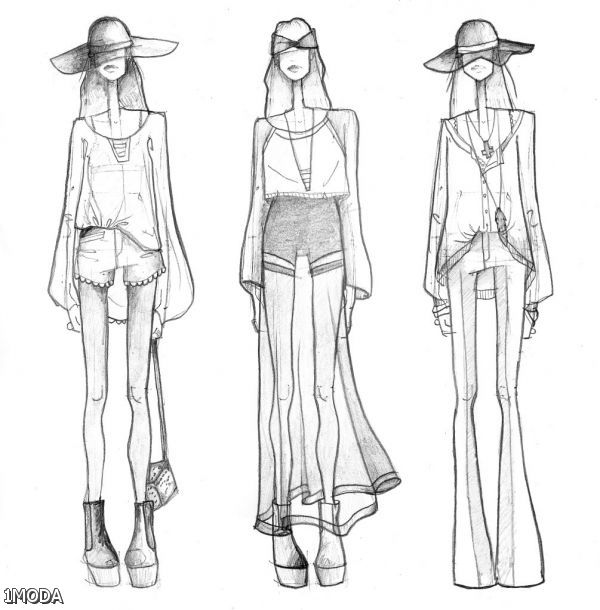 fashion designer sketches step by step 20152016 fashion