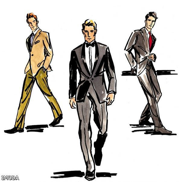 33+ Fashion Designers Sketches Men \u2013 Shopping Guide. We Are
