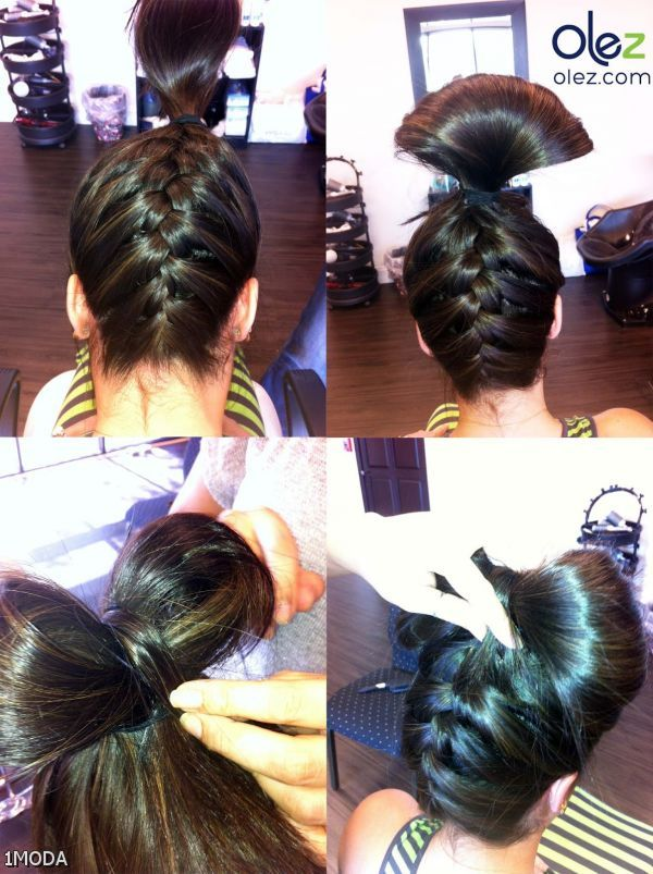 side french plait step by step instructions