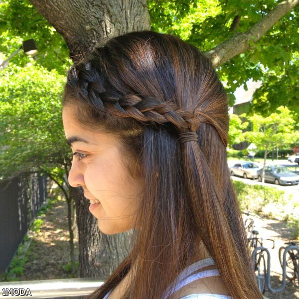 French Braid Ponytail Hairstyles For Black Women 2015-2016 ...