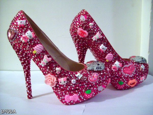 Hello Kitty Shoes For Women High Heels 2015-2016