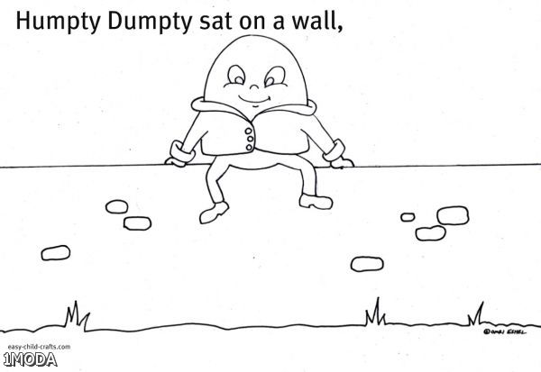 printable humpty dumpty coloring pages - humpty dumpty coloring page 2015 2016 fashion trends