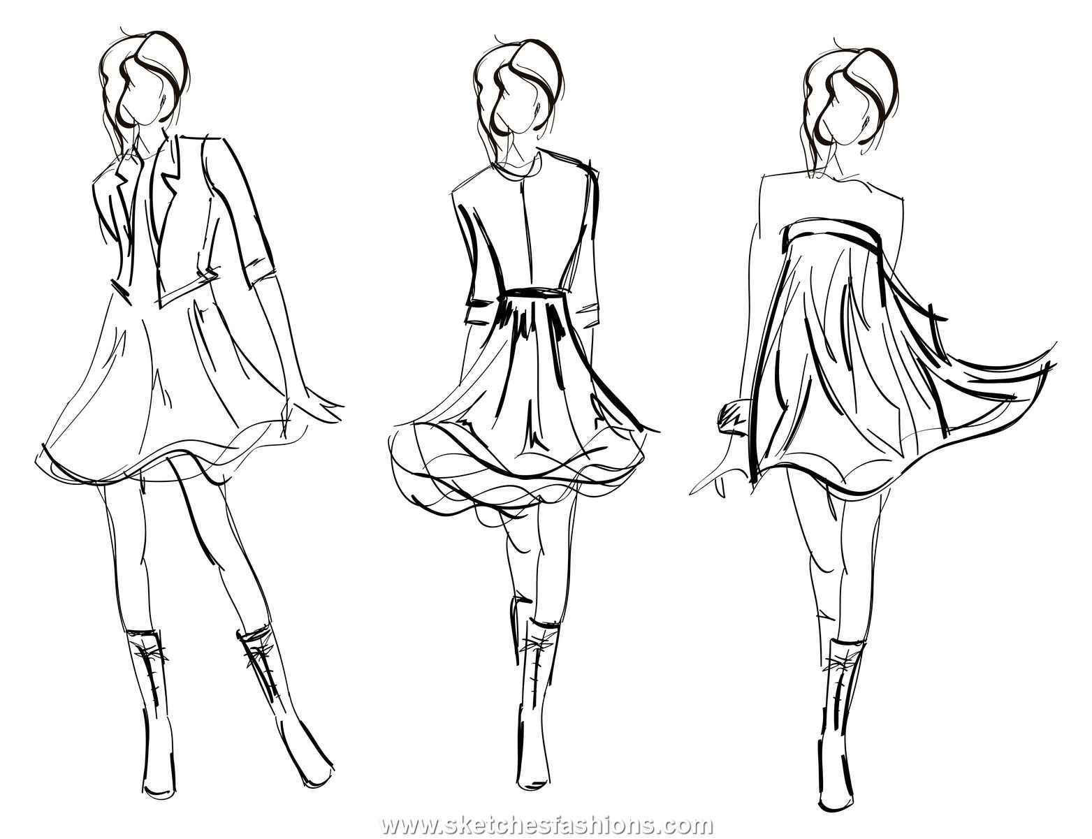 fashion design figure drawing