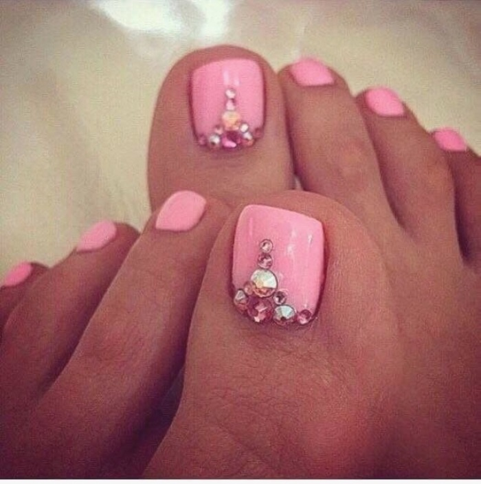 25 French Toe Nails With Diamonds Shopping Guide We Are Number One Where To Buy Cute Clothes