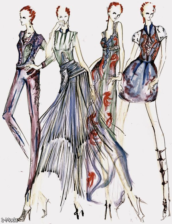 Fashion designer sketches tumblr