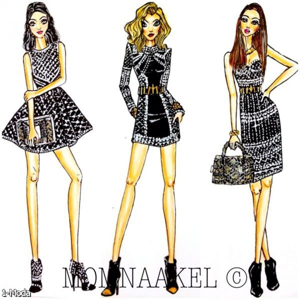Clothing Design Illustrator Fashion Illustration By