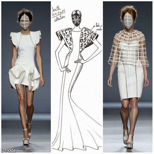 Fashion Illustration By Fashion Designers Cover 2015 2016