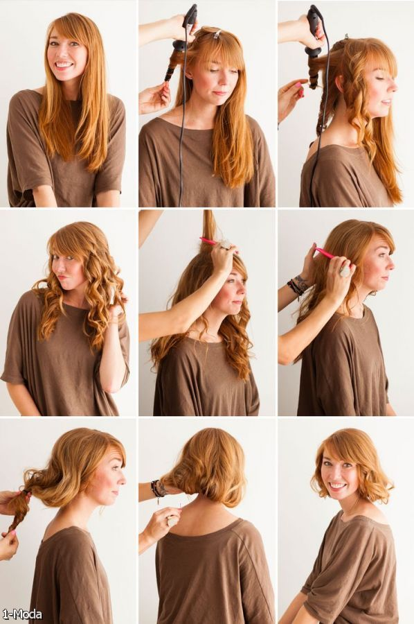 Hairstyles For Long Hair To Short : Flapper Hairstyles For Long Hair Tutorial 2015-2016 Fashion Trends ...